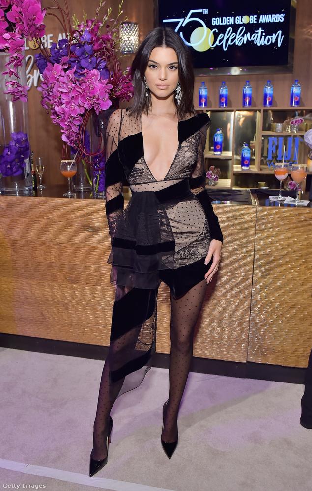 Anélkül, hogy sarkosan állást foglalnánk a kérdésben, meg kell említenünk, hogy azért a demonstráció visszás jellegét a mégsemterhes Kendall Jenner is nyomatékosította ezzel a ruhával, amelyben ugyan iszonyú szexi (azzal együtt, hogy olyan, mint akit hirtelen medvetámadás ért), de talán mégsem most kellett volna ezt a szettet elsütnie