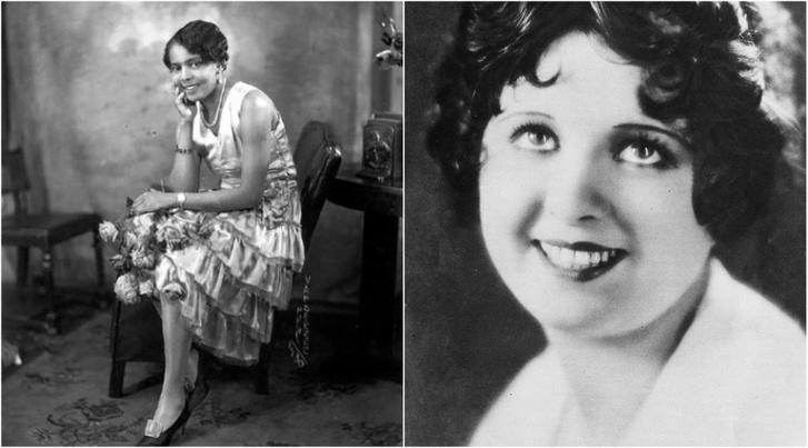 """Esther """"Baby"""" Jones és Helen Kane (wikipedia)"""
