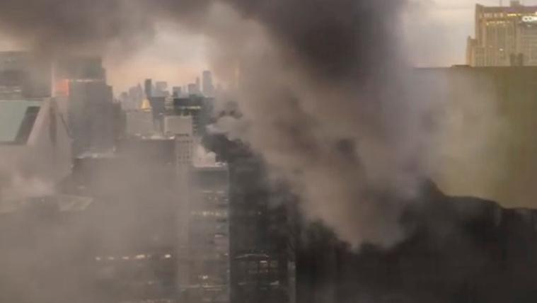 Kisebb tűz volt a Trump Towerben