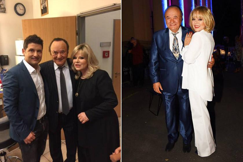 Balázs Klári 2016 őszén és egy évvel később.