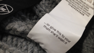 Szexista mosási útmutatót talált lánya sapkájában egy asszony