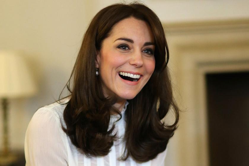 Katalin hercegné platinaszőke hajjal - Meglepő fotót mutatunk róla