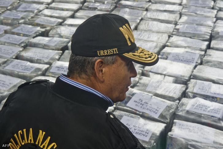 Kokainfogás Mexikó és Peru határán