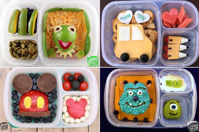 Mindennap egy meglepetés a dobozban: imádja a gyerek az apa ebédjeit