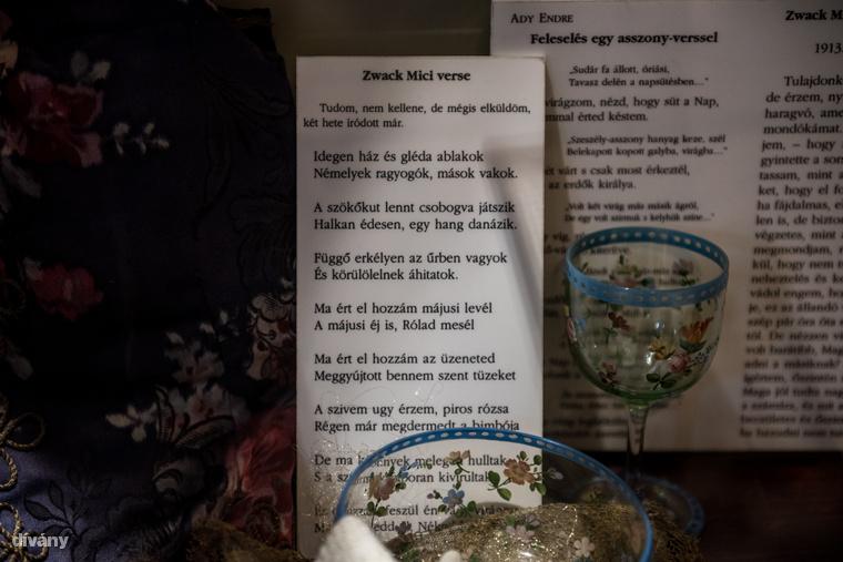 Kiállították Ady Endre Mylittához, Zwack Péter nagynénjéhez írott verseit is