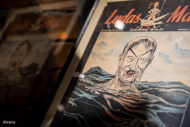 """Pályi Jenő egy történelmileg meghatározó pillanat ábrázolásához, a forint megjelenéséhez vette elő a """"vizes embert"""""""