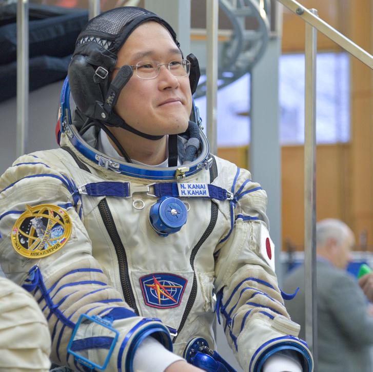 Norishige űrhajós még a Földön