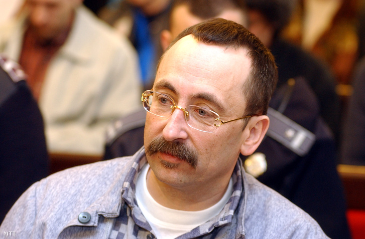 Dietmar Clodo a bíróságon 2003. április 10-én