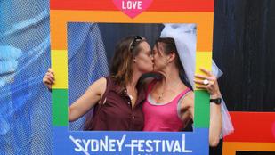 Színes esküvőhullám kezdődött Ausztráliában