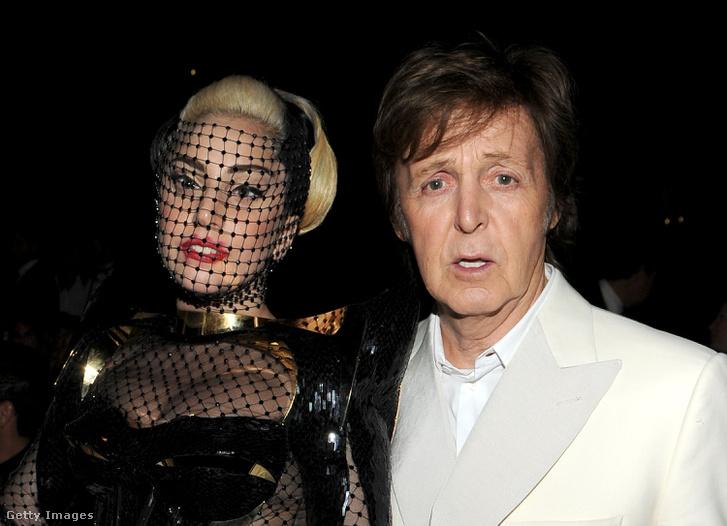 Lady Gaga és Paul McCartney