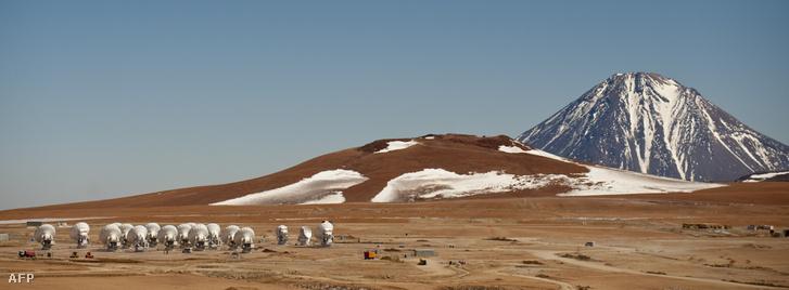 A chilei ALMA rádióteleszkópok