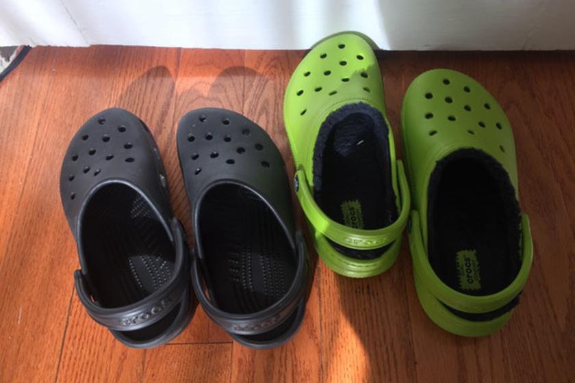 Rachel ezt a két pár cipőt váltogatta egy héten keresztül, és sok mindent észrevett a kísérlet alatt.