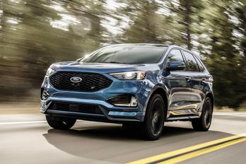 Új Ford Edge: egy nagy vigyorral biztosan több
