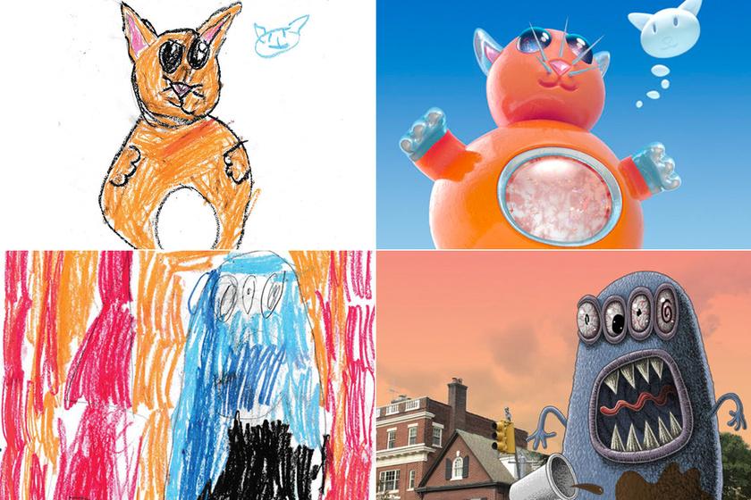 Ezért adj ceruzát a gyerek kezébe tablet helyett! - Különleges projektet keltettek életre a művészek