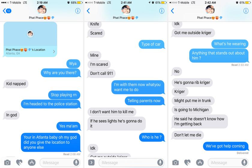 Ez a beszélgetés zajlott le Jaila és a barátja között