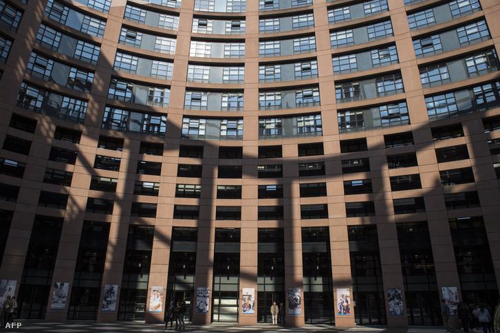 Az Európai Parlament épülete