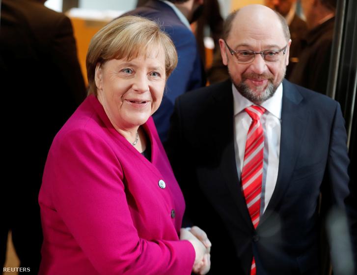 Merkel és Schulz