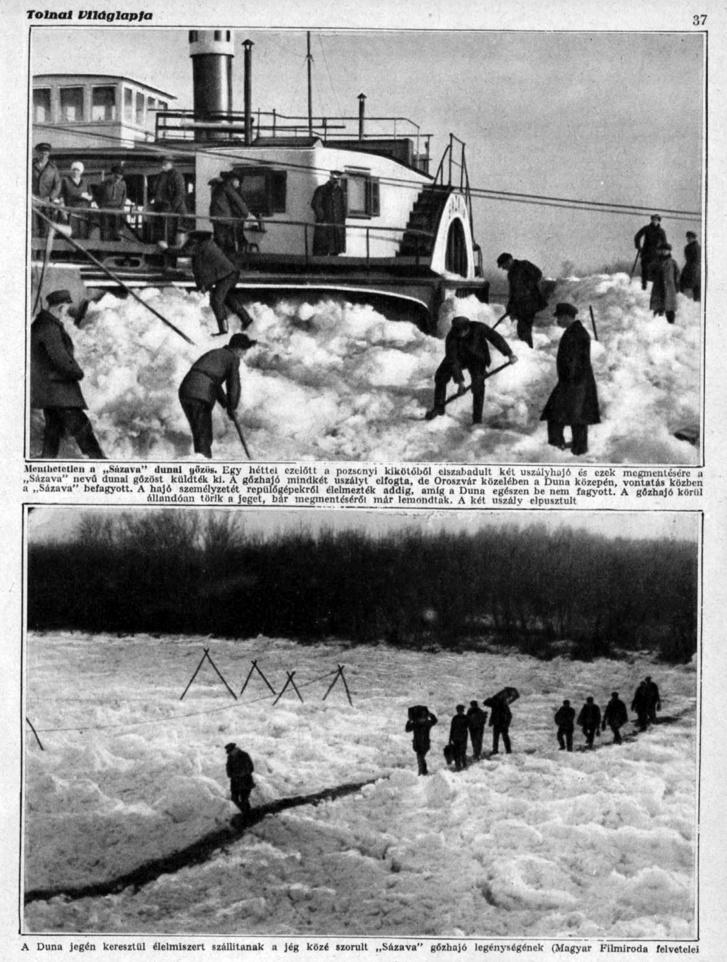 Tudósítás a fedélzetről, Tolnai Világlapja 1928. január 11.