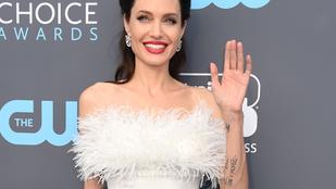 Angelina Jolie rég nézett ki olyan jól, mint a Critics' Choice Awardson