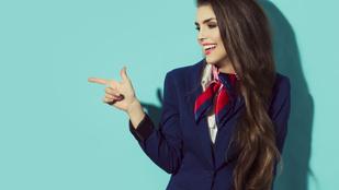 A kérdés, amit mindig is fel akart tenni egy stewardessnek