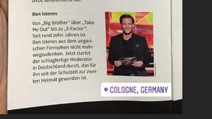Istenes Bencéről már németül is írnak, azt, hogy nagyon schlagfertig