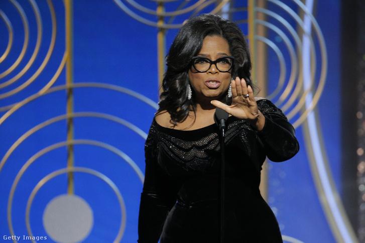 Oprah a Golden Globe díjátadón