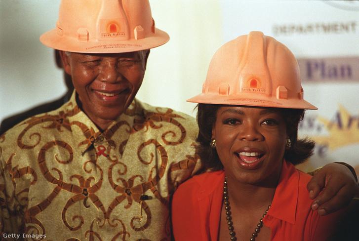 Nelson Mandela és Oprah (2002)