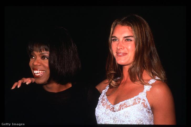 Oprah Winfrey és Brooke Shields 1995-ben