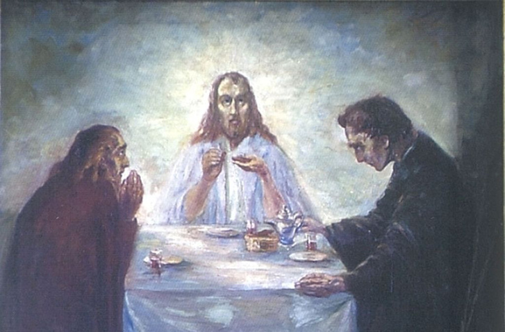 Emil Nolde: Christus zu Emmaus