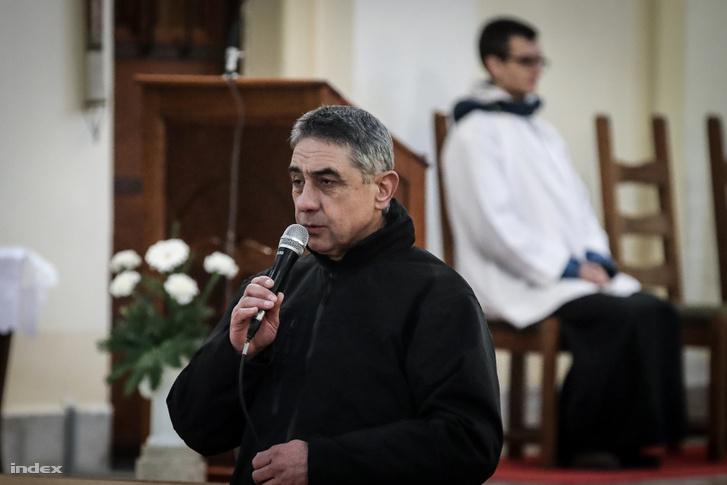 Németh László plébános