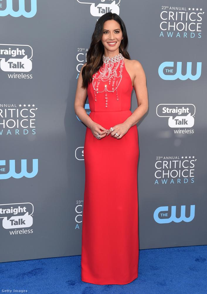 Olivia Munn általában ott van a legjobban öltözött hollywoodi színésznők között