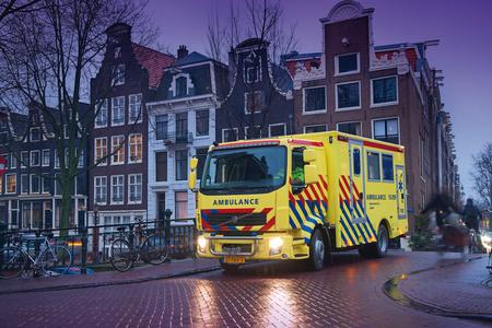 Mobil intenzív egység Hollandiából