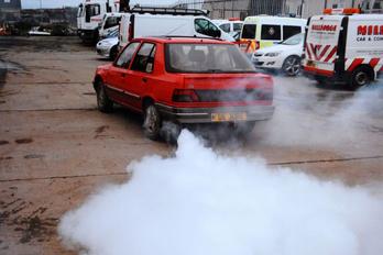Füstbe borul a fél város reggeli indításkor