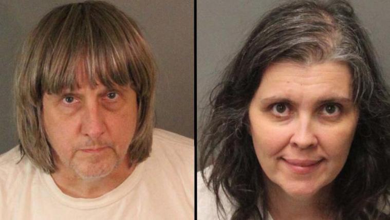 Ágyhoz bilincselve tartotta fogva 13 gyerekét a kaliforniai házaspár