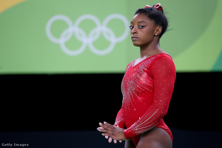 Simone Biles a riói olimpián 2016-ban