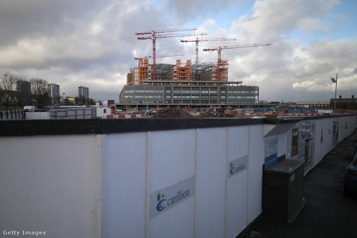 Midland Metropolitan kórház építése