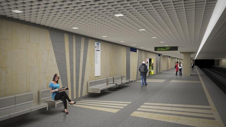 Elég spártaiak lesznek a 3-as metró új állomásai