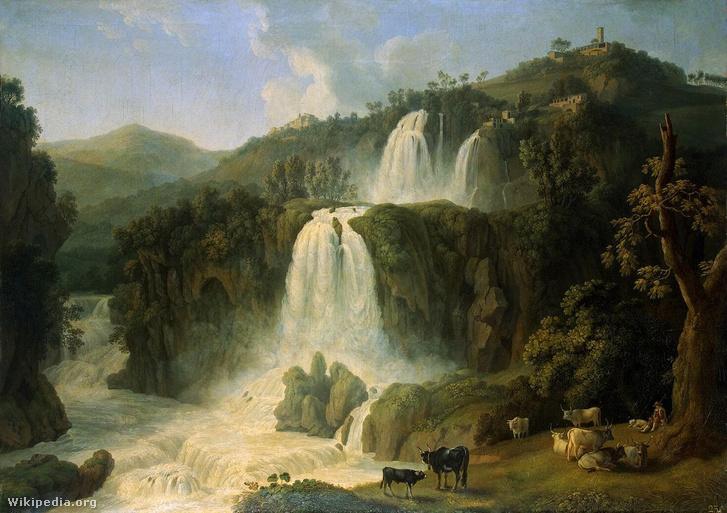 Nagy vízezések Tivoliban