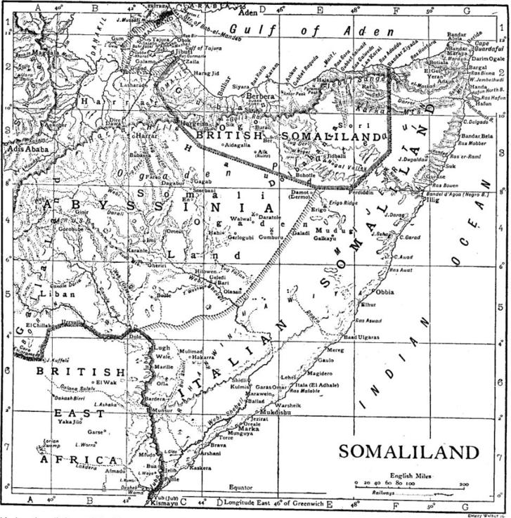 Szomália 1911-ben