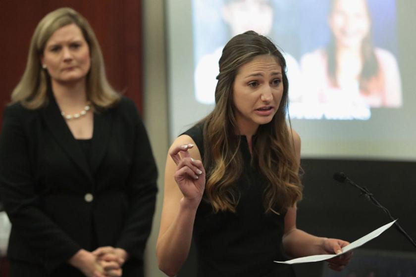A tárgyaláson Kyle Stephens is tanúskodott, akit gyerekként Nassar nem a rendelőben, pácienseként, hanem saját otthonában zaklatott.