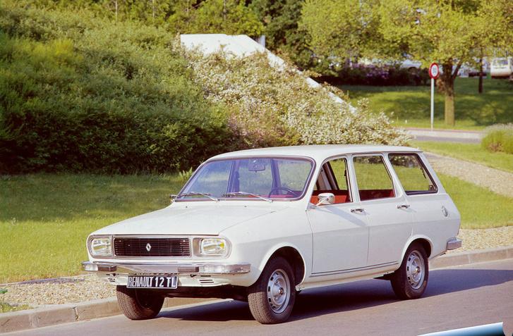 Kombi kivitelű, faceliftelt, eredeti Renault 12