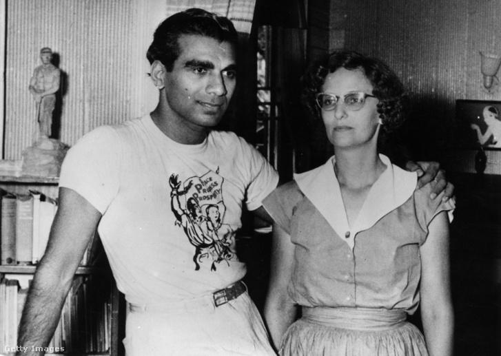 Janet és Cheddi Jaggan 1953-ben