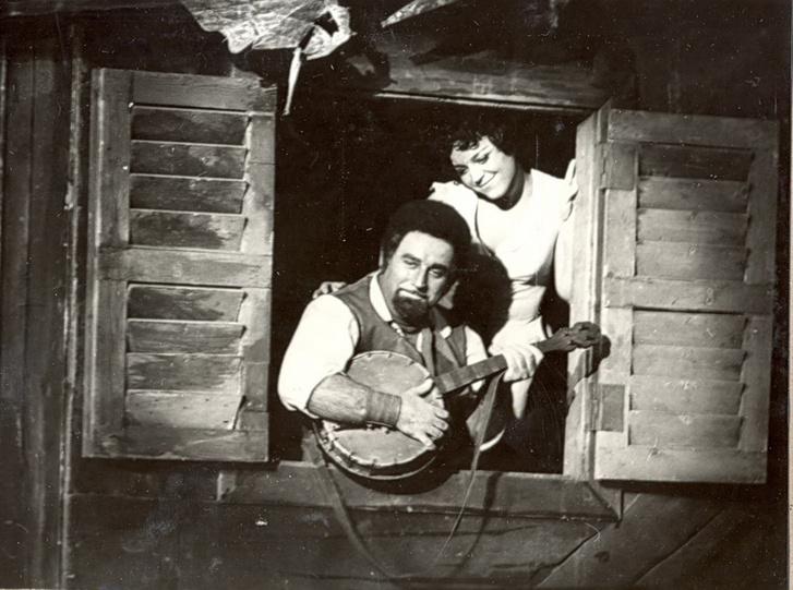 Sólyom-Nagy Sándor és Kukely Júlia 1981-ben