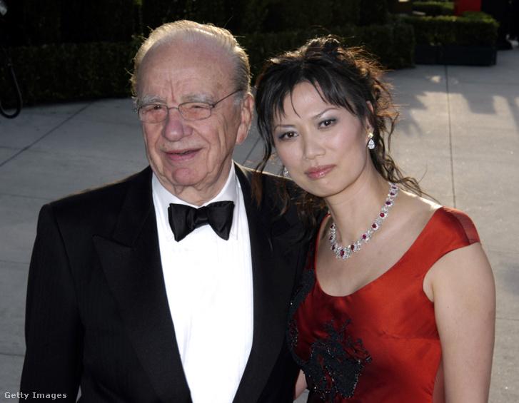 Rupert és Wendi Murdoch 2005-ben