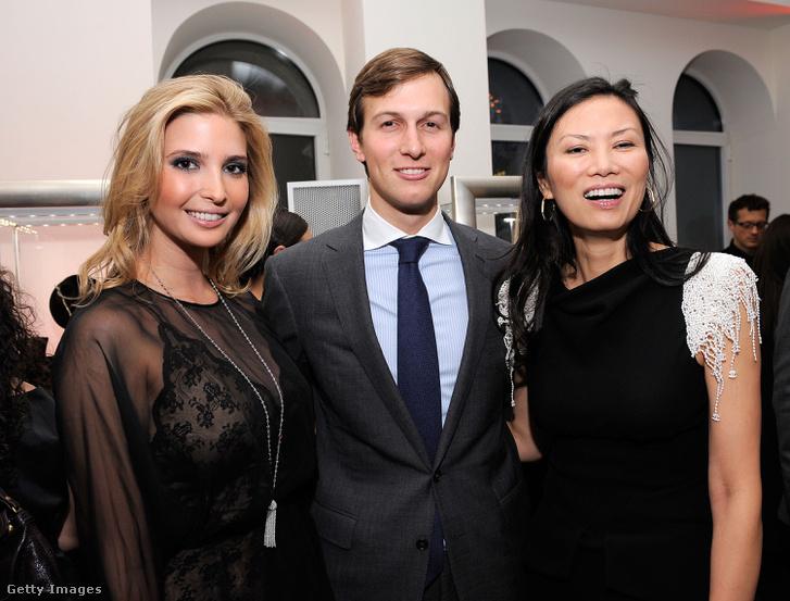 Ivanka Trump, Jared Kushner és Wendi 2010-ben