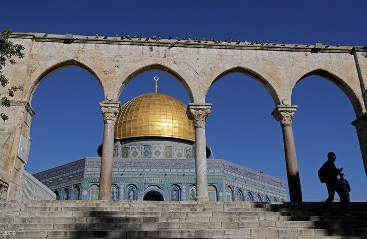 A Sziklamecset Jeruzsálem óvárosában