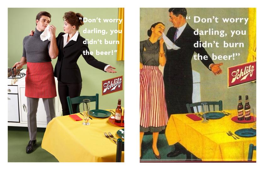 """""""Ne aggódj, drágám, a sört nem égetted oda!"""""""