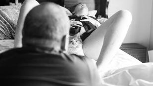 Ma már semmi nem lesz annyira zavarba ejtő, mint ez a macskát szülő nő