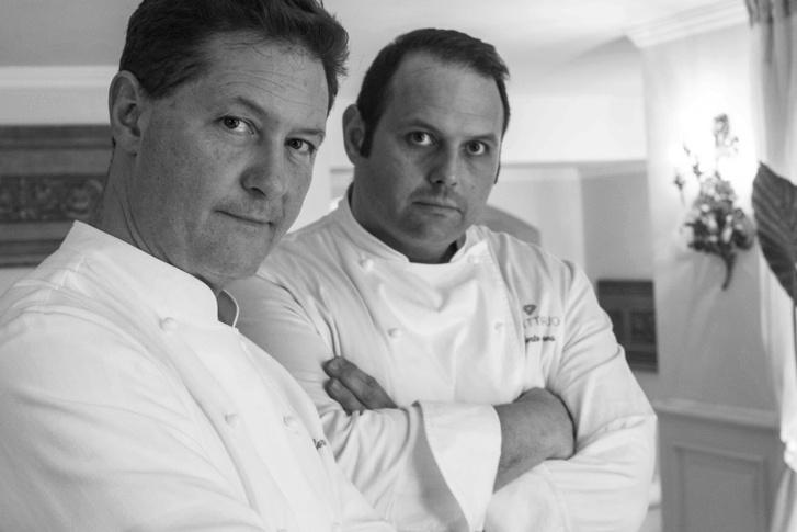 Enrico és Roberto (Bobo) Cerea – a Da Vittorio executive chefei