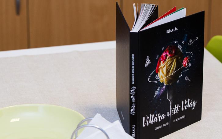 Ilyen szakácskönyvet is lehet nyerni